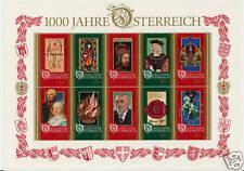 Austria 1996 millennary dell' Austria dell' ONU. MINT CAT. £ 14 +