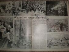 Article sale of original ILN illustrations London Hilton Art Gallery 1970