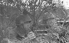 B&W WWII Photo Russian Snipers Kursk Mosin-Nagant WW2 / 1081