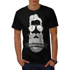 BARBA Hipster Moda Uomo T-shirt Nuove | wellcoda
