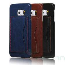 Custodia cover rigida LUXURY per Samsung Galaxy S6 Edge G925F slim stand case