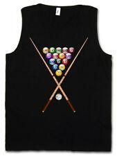 POOL BILLARD II TANK TOP VEST Eightball 8 Ball Gamble Player Gambling Snooker