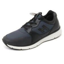 B7140 sneaker uomo HOGAN H254 T2015 scarpa H 3D blu/nero/grigio shoe man