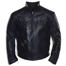 The Dark Knight Rises Begins Batman Costume Leather Jacket (BNWT)