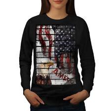 American Eagle Flag USA Women Sweatshirt NEW | Wellcoda