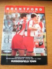 17/05/1995 Play-Off Semi-Final Division 2: Brentford v Huddersfield Town  . No o