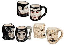 Taza de cerámica Halloween regalo novedad taza beber té café Decoración Aterrador Utilería