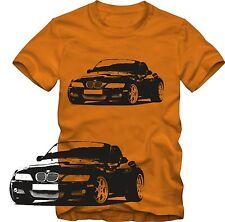T-Shirt  BMW Z 3 Roadster Tuning T-Shirt   Retro Style S/W Grafik DTG