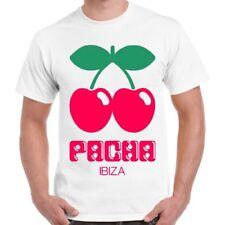 Pacha Ibiza House Cool Dance Space Privilege White Island Unisex T Shirt 2386