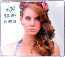 LANA DEL REY * VIDEO GAMES / BLUE JEANS - REMIX EP * GERMANY 6 TRK CD * BN&M!