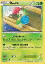 Roselia -Noir & Blanc- Dragons Exaltés - 12/124 -Carte Pokemon Française Neuve