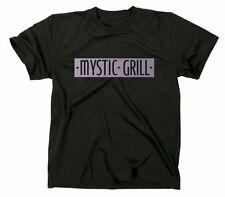 Mystic Grill The Vampire Diaries Fanshirt T-Shirt, TV Serie, Bar Fanshirt Logo