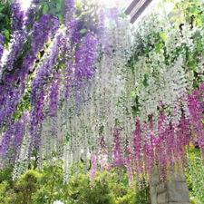 Artificial Flower Trailing Bunches Fake Vine String Garland Garden Plant Wedding