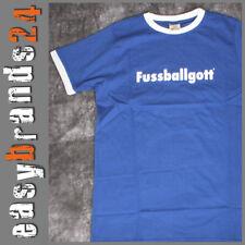 Fun T-Shirt Fußballgott Fußball Baumwolle Shirt Herren NEU