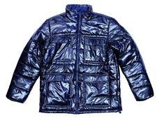 Adidas Shiny Padded tamaño XS S M L XL señores invierno chaqueta x51290 azul