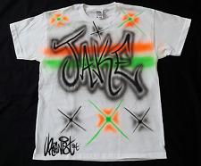 Urbanist Graffiti Street Dance, Hip Hop, 2 colour airbrushed child's T-Shirt
