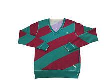 Mens Puma Golf Jumper Reversible Merino Wool Sports Casual Sweater Top Pullover