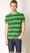 Armani Jeans Mens Green H/S Polo Tshirt - Sz XXL & XXXL BNWT