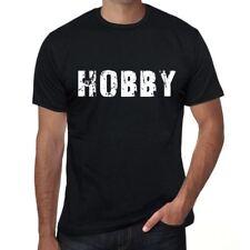 hobby Homme T shirt Noir Cadeau D'anniversaire 00553