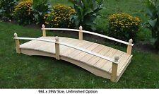 Amish-Made Weight-Bearing Pine Acorn Bridge - Bridges In 8 Sizes & 10 Colors
