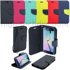 Housse etui coque portefeuille pour Samsung G928F Galaxy S6 Edge Plus + film