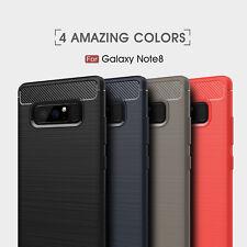 Samsung Note 8 Funda Cubierta durable de carbono flexible Utlra Slim Galaxy Maxipro ™