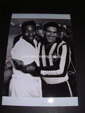 BRAZIL 1958 1962 WORLD CUP LEGENDS PELE & GARRINCHA SANTOS v BOTAFOGO PHOTO