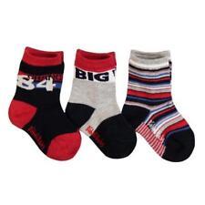 BÓBOLI Niño Calcetines Paquete de 3 Azul Oscuro/rojo talla 16-18 19-21