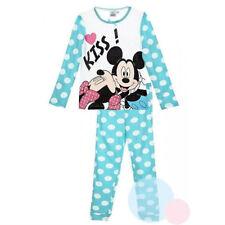 DISNEY pyjama 2 pièces MINNIE Mickey 3 4 6 ou 8 ans bleu turquoise NEUF