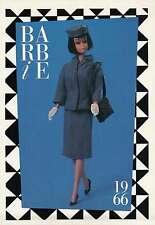 "Barbie Collectible Fashion Card  "" Pan American Airways Stewardess ""  1966"