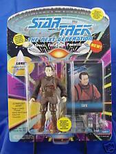 Playmates Star Trek TNG Lore evil Twin Brother Data