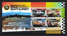 AUSTRALIA 2012 CAR RACING AT BATHURST MINIATURE SHEET UNMOUNTED MINT,MNH