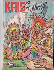 KRIS LE SHERIF n°29 - Mon Journal 1962