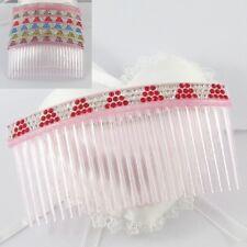 Hair Bling Rhinestone Pyramid Hair Comb Hair Accessory 100x50mm Select Colour