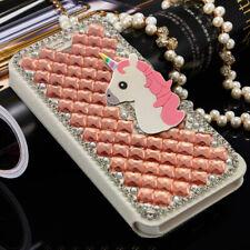 Bling Unicorn Crystal Diamond Wallet Flip Case Cover For Elephone S8 P8 C1 S7 S3