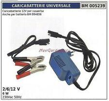 Chargeur universel 12 V pour tondeuse 2/6/12 V 6W 230vac 50Hz 005239
