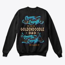 Classy Goldendoodle Dad Tee Hanes Unisex Crewneck Sweatshirt