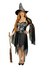 sorcière Magicienne MAGERIN costume femme gris noir 36-38,40-42