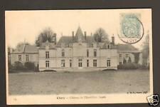 CLERY (45) Façade du CHATEAU DE L'EMERILLON en 1905