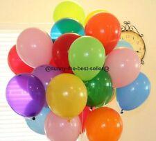 10-100 Latex PLAIN Balloons Helium High Quality PARTY Birthday Wedding BALLOONS