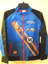 New Disney Cars Lightning McQueen Racing Jacket for Boys Sz 4T 5/6 7/8