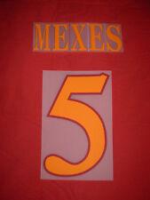 KIT MEXES 5 ARANCIO X MAGLIA CALCIO ROMA KAPPA NUOVO