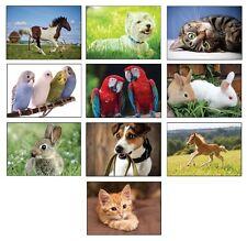 10 20 50 100 500 1000 Tier-Postkarten Tierpostkarten Hunde Katzen Vögel Pferde