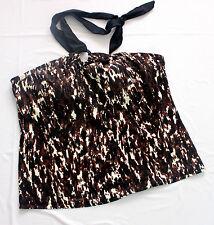 brand new women's halter neck style swimwear tankini top swimwear size 14 18