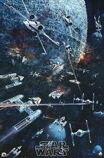 """Starwars"" 1977 Retro Movie Poster A1-A4 Sizes"