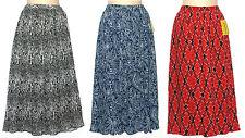 Cathy Daniels Long Pleated Full Black Snakeskin Skirt Womans 1X 2X 3X NEW $56