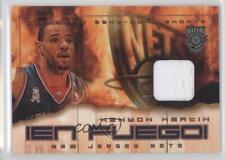2002 Fleer Hot Shots En Fuego Game-Used Gold #KEMA Kenyon Martin New Jersey Nets