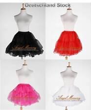 Crystal Yarn Knee Length Wedding Prom Crinoline Petticoat Slip Underskirt 50s