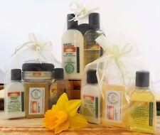 Natural Skin and Hair Care Gift Set - Handmade Organic Toiletries in Organza Bag