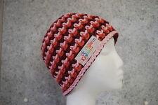 Boshi Mütze Beanie Mütze gehäkelt mit oder ohne Bommel verschiedene Farben